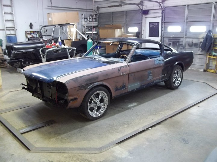 1964-1/2 Mustang coupe to fastback conversion - also ask about the conversion on 1965 - 1970