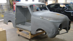 1946 Crosley Pick up Custom, custom metal fabrication, 13B-REW Rotary Engine, MII suspension, Custom Chassis