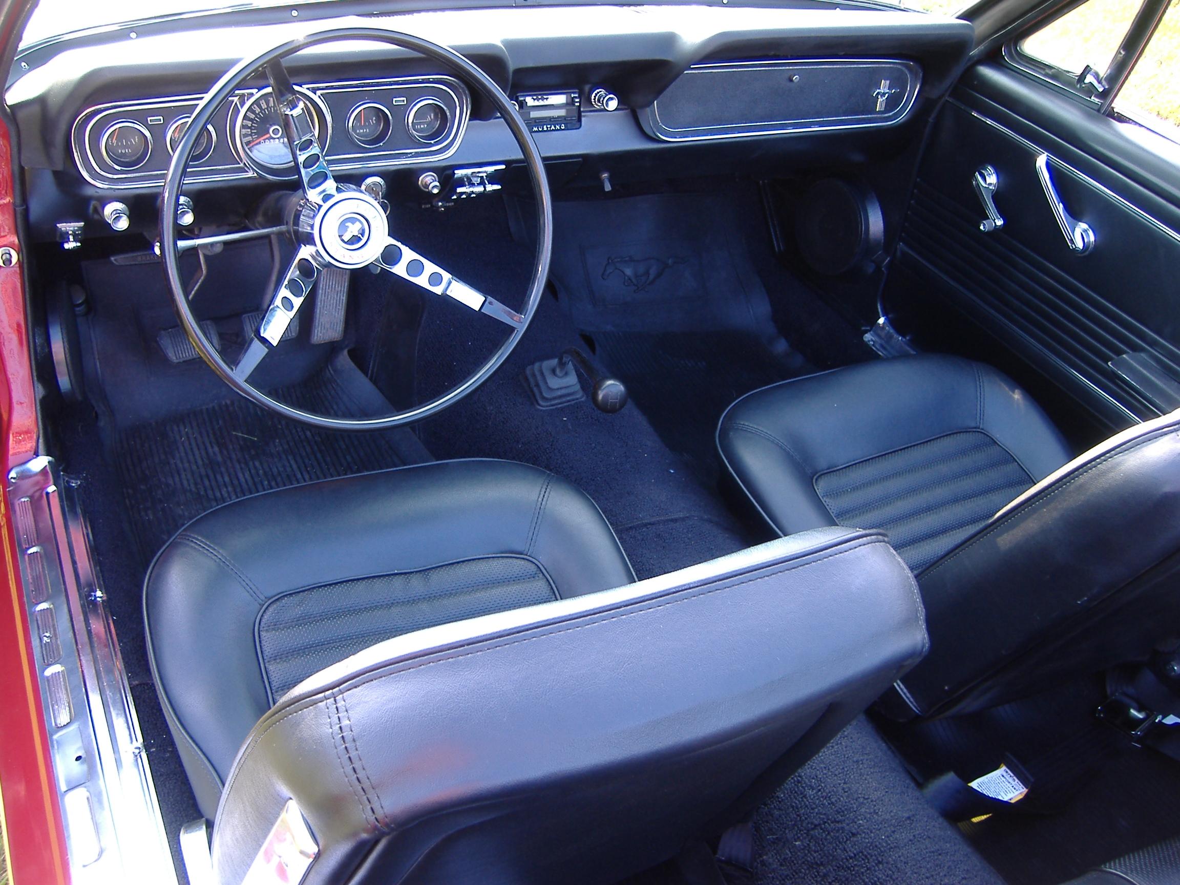 1966 Ford Mustang Interior Parts Photos