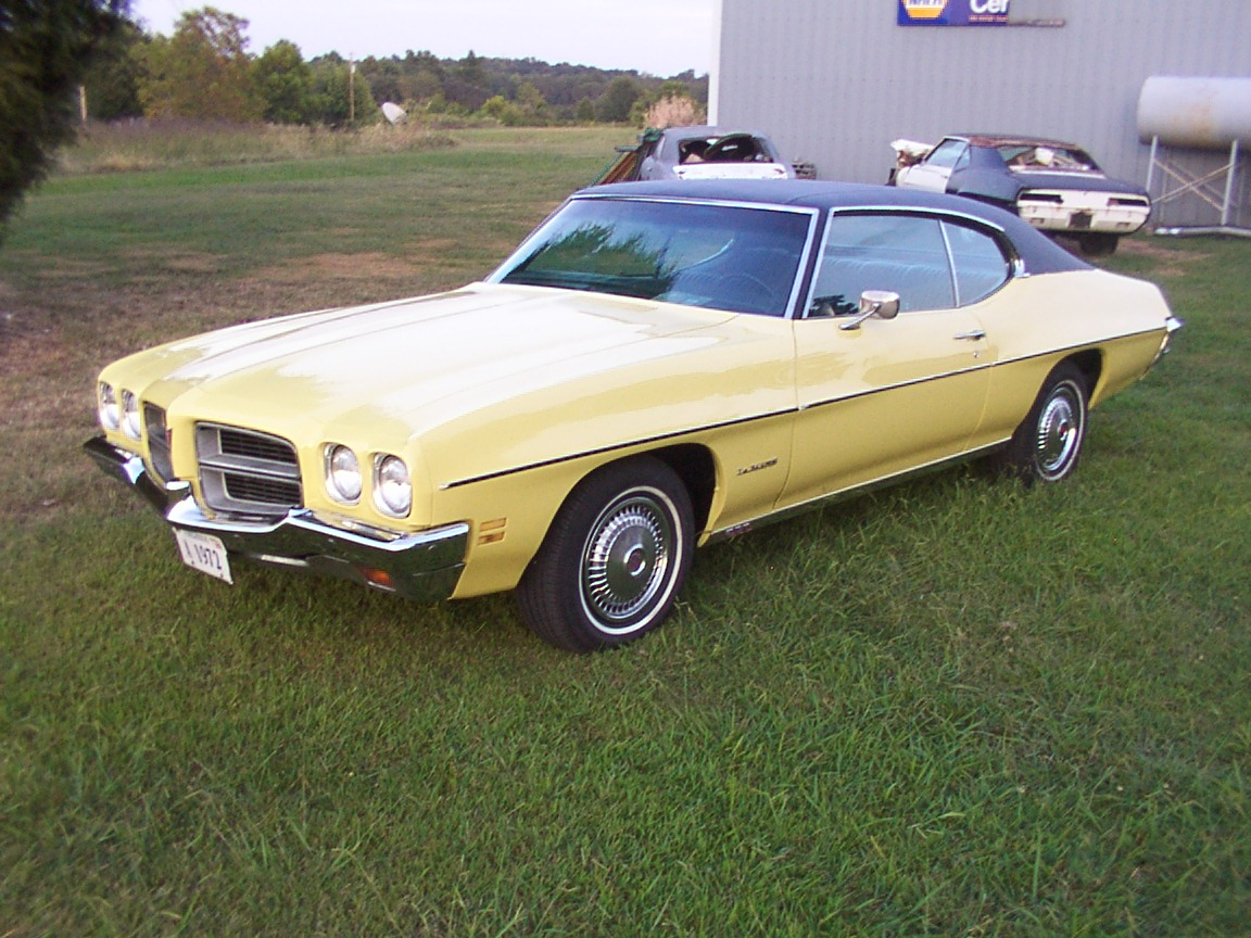 1972 pontiac le mans - photo #3