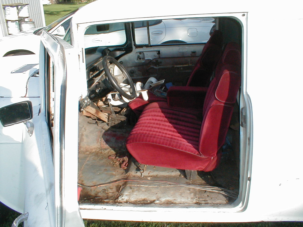 1955 Chevy Sedan Delivery Dash Wiring We Install A Disk Brakes On The Front And Replaced Engine Owner Will Complete Some Other Repairs May Bring It Back For